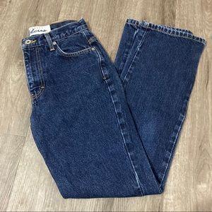 Vintage Express Bleus High Rise Mom Jeans